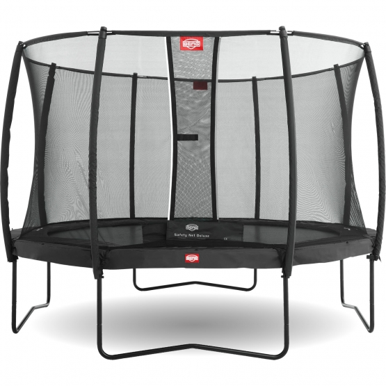 Berg Champion 380 Grey incl. Safety Net Deluxe